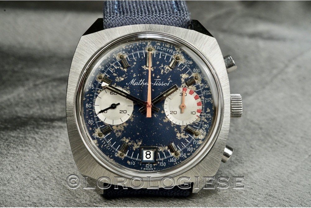 Mathey Tissot - Vintage Stardust-Dial Waterproof Chronograph - Cal. Valjoux 234