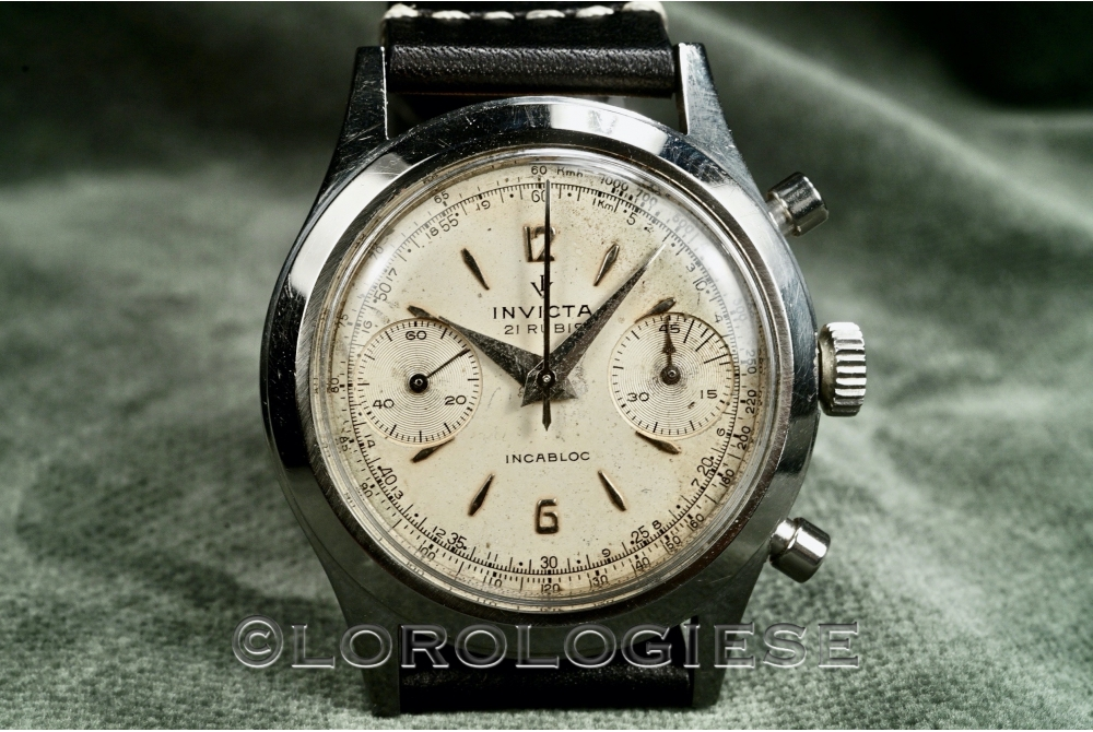 Invicta - Etanche Original 38mm Waterproof Chronograph - Cal. Valjoux 22