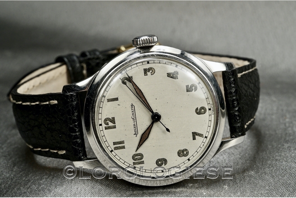 Jaeger LeCoultre - Classic Military-Style Steel Watch - Cal. 468/A1