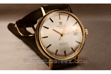 Tissot - Seastar Automatic 18kt. Solid Gold Watch - Cal.2481