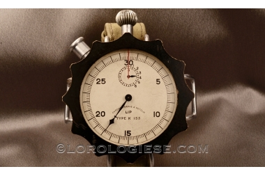 LIP - Type K 153 Chronographe a Retour - Return Chronograph / Bomb Timer