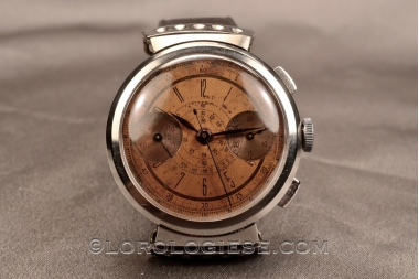 Th. PICARD FLEXIBLE LUGS STEEL CHRONOGRAPH CPR L13