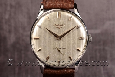 LONGINES –  Ref. 7163 Original 1963 Steel Special Dial Watch – Cal. 30L