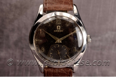 OMEGA – Ref. 2503 Tropical Chocolate Dial Steel Watch – Cal. 265