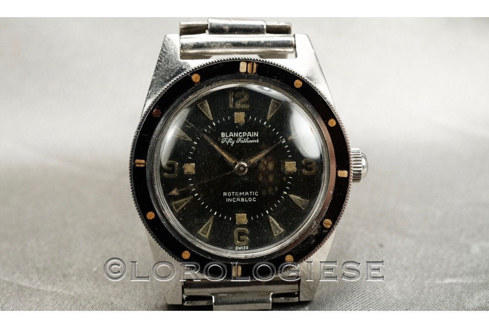 BLANCPAIN - Fifty Fathoms Rotomatic Incabloc Vintage Skin-Diver