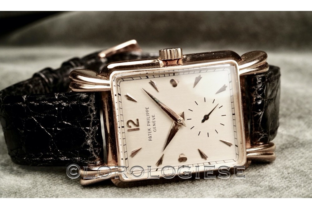 Patek Philippe - Ref. 2440 18kt. Pink Gold 1949 Watch - Cal. 10```200