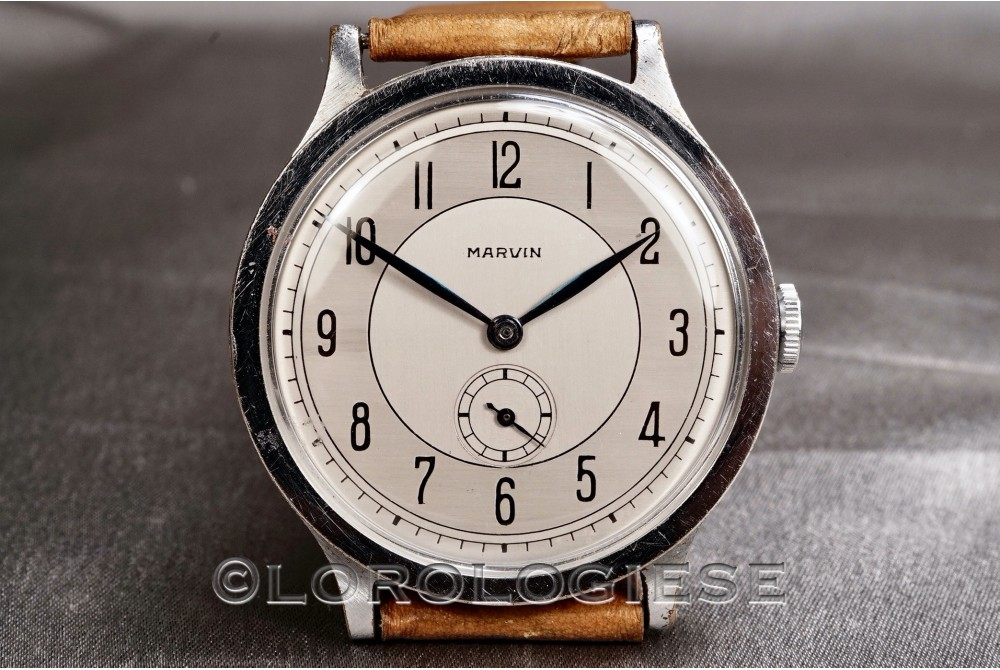 Marvin - Coin Edge Oversize XL 40mm 1940 Watch